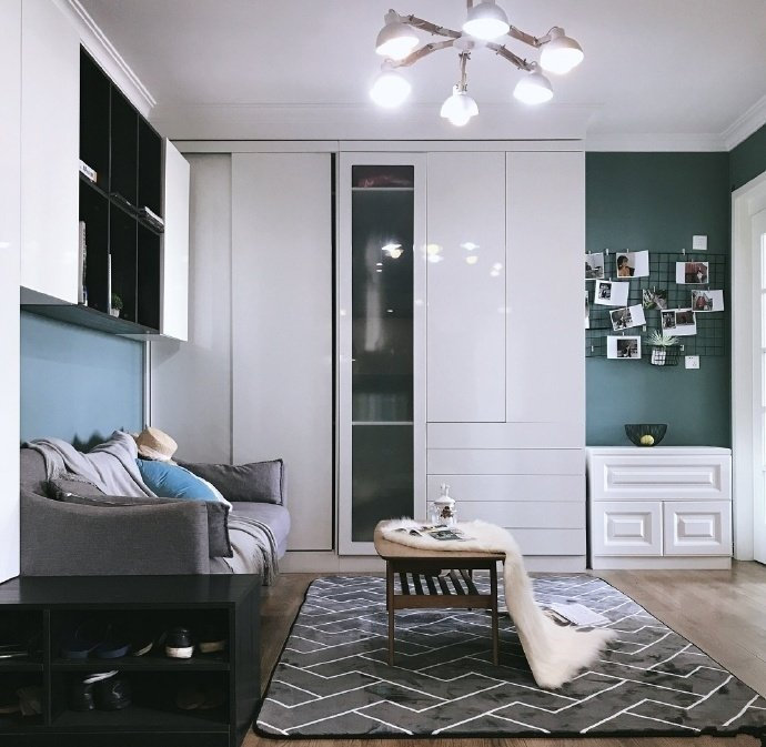 光华国际65平米宜家风公寓装修案例分享
