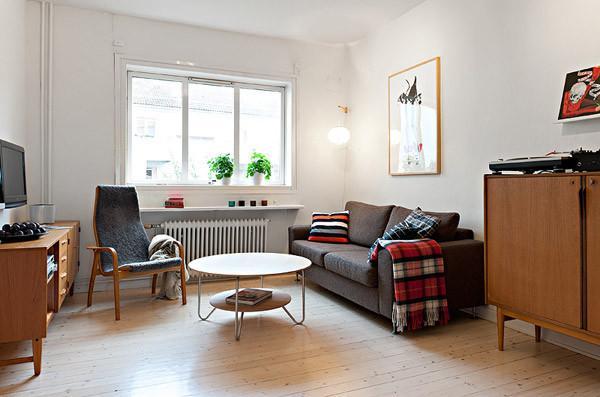 41平小公寓宜家风格温江全包装修公司设计